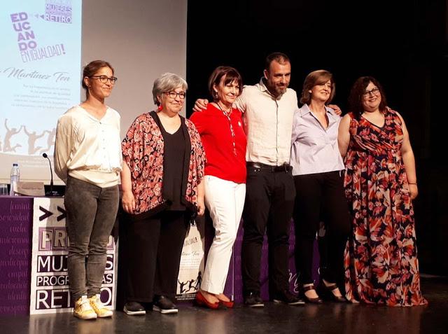 Imagen de grupo de la entrega de premios