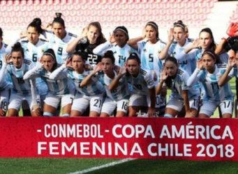 selección femenina de fútbol de Argentina