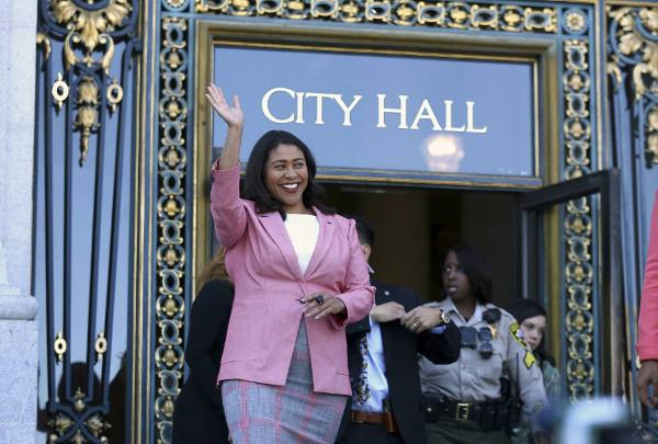 Imagen de la alcaldesa London Breed