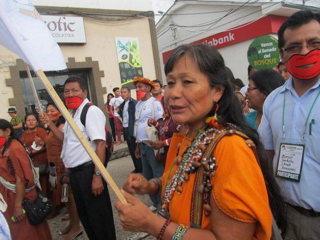Teresita Antazú, lider yanesha