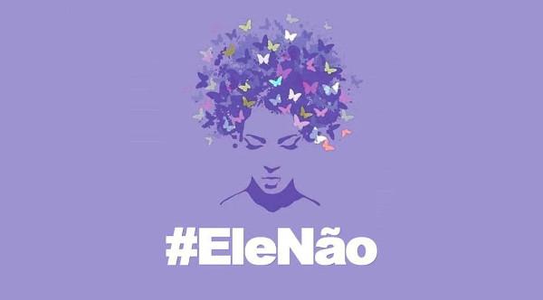 Imagen de la campaña contra Bolsonaro
