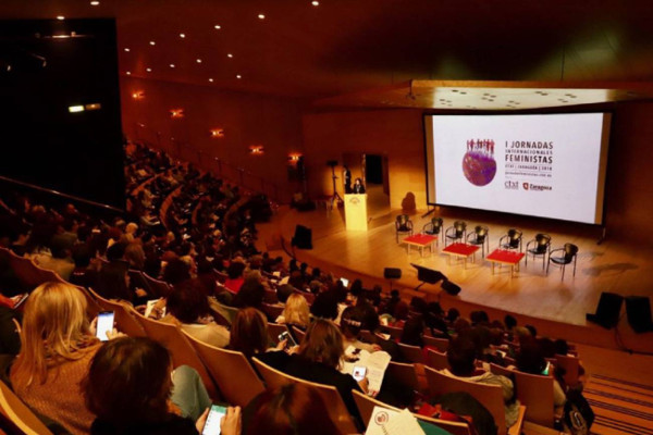 Imagen de las Jornadas Feministas de Zaragoza