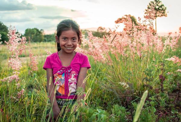 Imagen de una joven indígena
