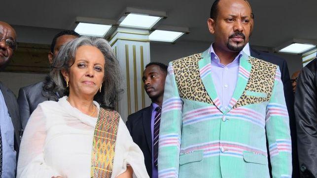 Imagen de la Presidenta de Etiopía