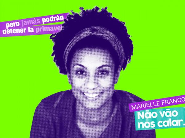 Imagen sonriente de Marielle Franco
