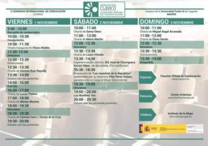 Cartel del II Congreso Internacional Virtual de Coeducación