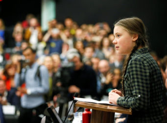 Imagen de Greta Thunberg