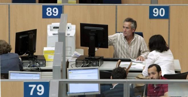 imagen de funcionarios de la AEAT de Madrid