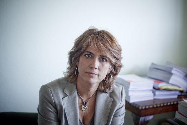 Imagen de la Ministra de Justicia, Dolores Delgado