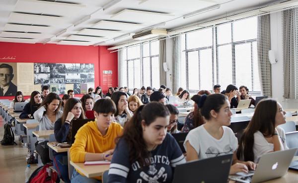 Imagen de un aula de una universidad