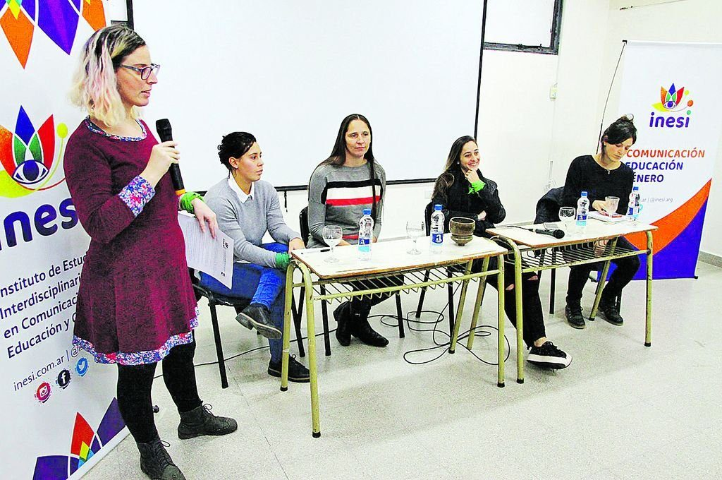 imagen de las conferenciantes
