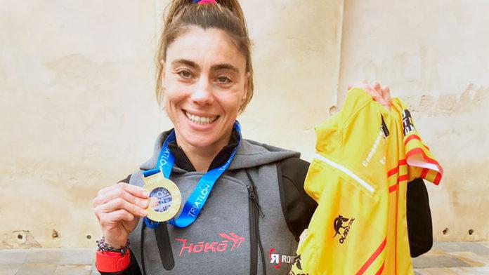 Imagen de la triatleta Helena Herrero