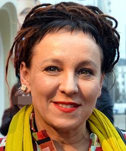 Imagen de la ganadora del Nobel de Literatura, Olga Tokarczuk
