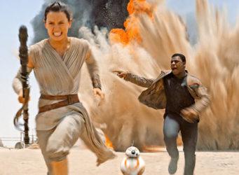Imagen de Rey, la protagonista de la saga Star Wars