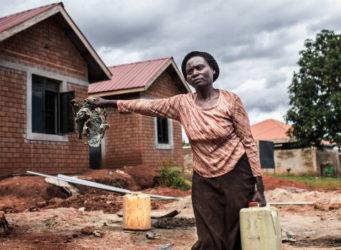 una de las cooperativistas ugandesas