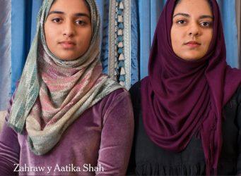 Imagen de las hermanas Shah