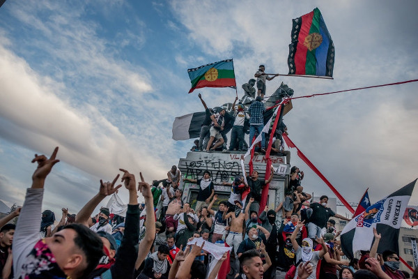 manifestación de Chile