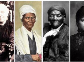 collage con fotos de las 4 pioneras