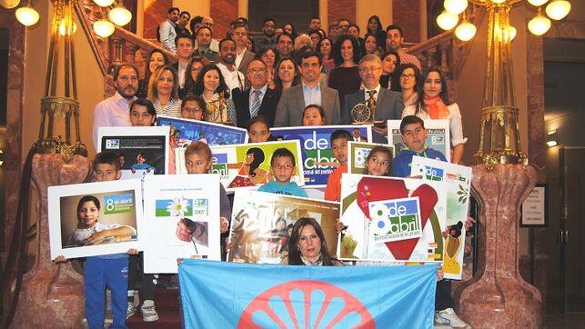 imagen de una celebración de la Comunidad Gitana