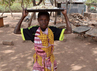 imageb de uno de los panaderos de Benin