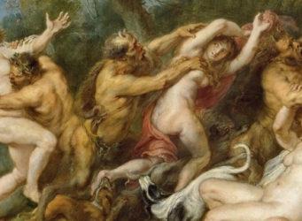 Fragmento de un cuadro de Rubens