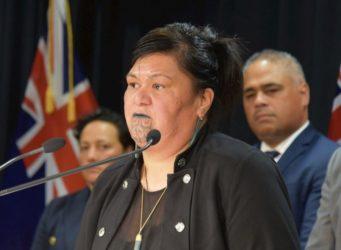 Imagen de Nanaia Mahita, ministra de exteriores neozelandesa