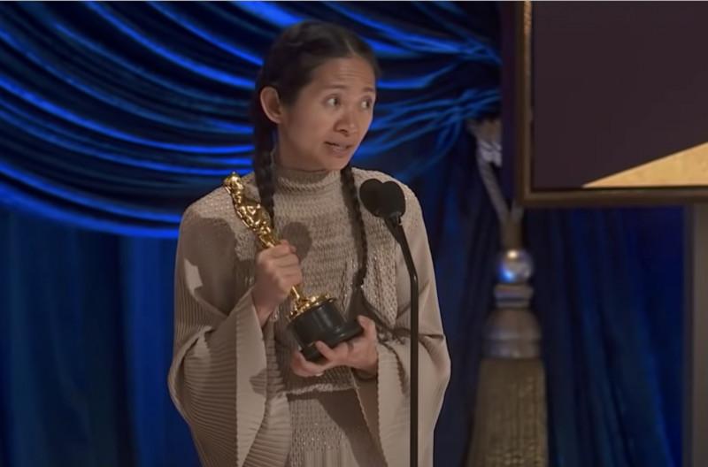 Chloe Zhao, ganadora de un Oscar