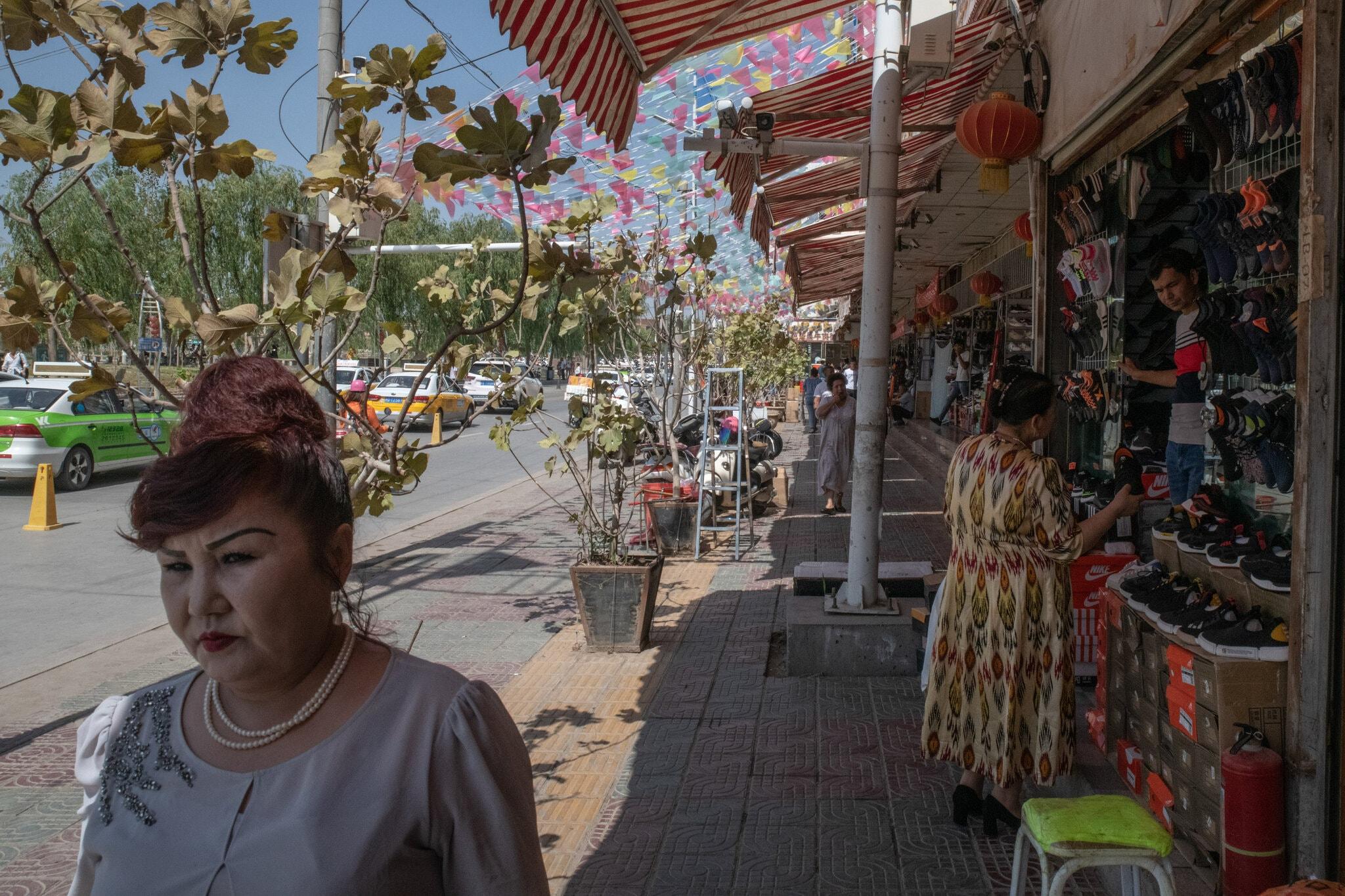 La ciudad china de Kasgar, en Sinkiang