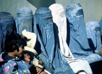 mujeres afganas con burka