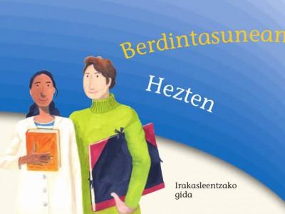 Educando en igualdad (euskera)