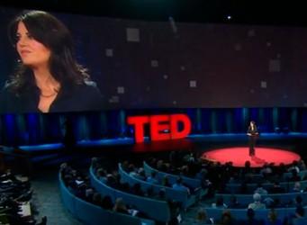 Imagen de un escenario TEDx
