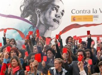 Imagen de una manifestación contra la violencia de género