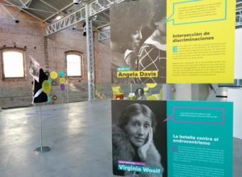 Imagen de una de las salas de la exposición