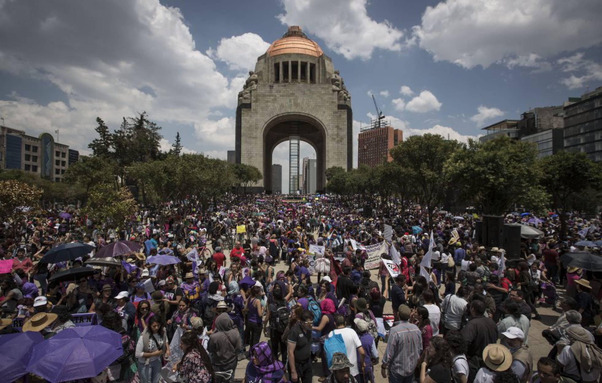 Imagen de la concentración de México