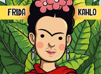 Portada del cuento sobre Frida Kahlo