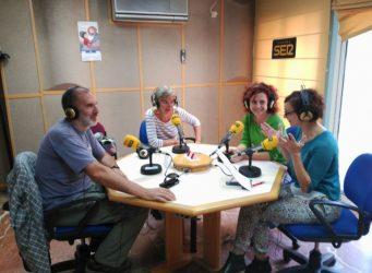 Imagen de la grabación del programa