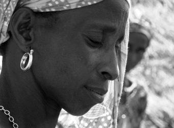 Imagen de una mujer senegalesa