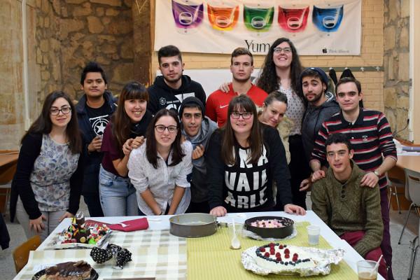 Imagen de un grupo de alumnos del centro