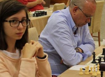 Imagen de la campeona Inés Prado