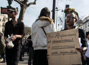 Imagen de una manifestación del 8 de marzo