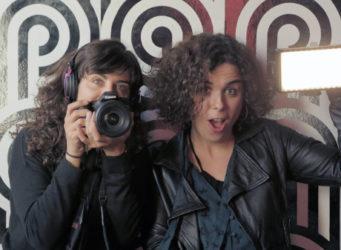 imagen de las dos directoras del documental