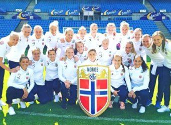 Imagen de la selección noruega femenina de fútbol