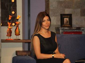 Imagen dela presentadora Doaa Salah