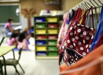 imagen del perchero de un aula
