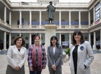 Imagen de cuatro rectoras de Universidad españolas