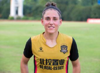 Imagen de la joven futbolista Vero Boquete