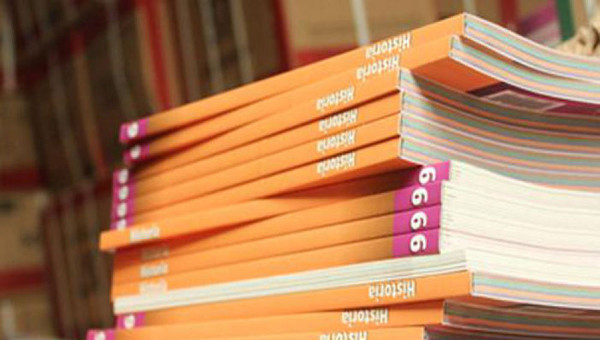 imagen de un montón de libros de Historia