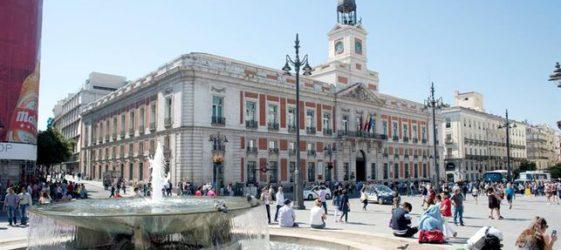Imagen de la Puerta del Sol de Madrid