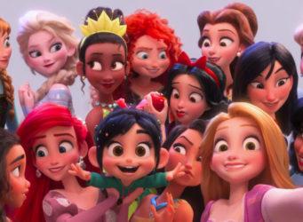Imagen de Vanellope y las princesas Disney