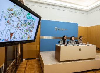 Imagen de la rueda de prensa anunciando las actividades